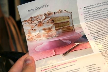 Redbook Lemon Marshmallow Cake Recipe