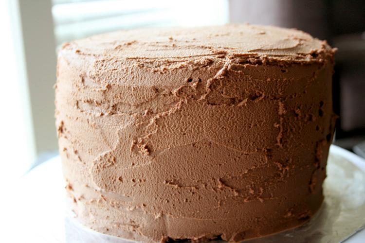 Chocolate Mayonnaise Cake | Amandeleine