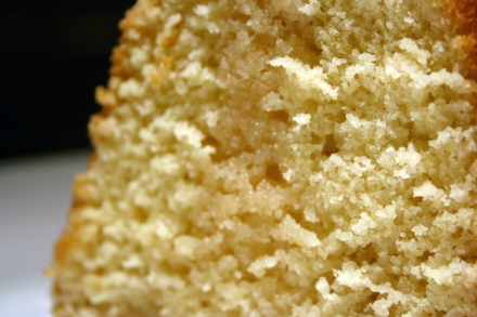 Kentucky Butter Cake - detail shot