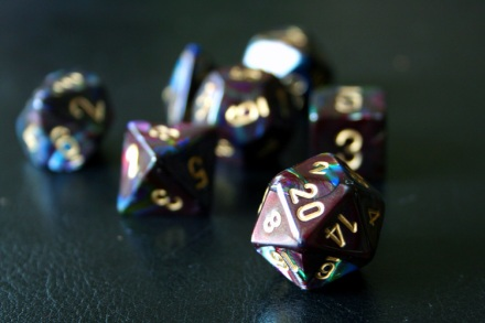 My geek cred lies within these dice