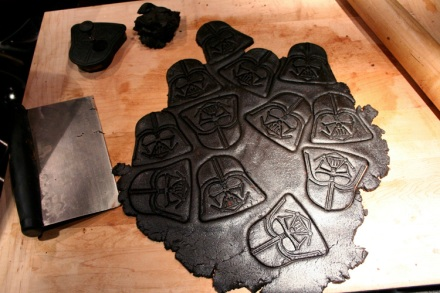Dough + Cutter = So many Vaders!