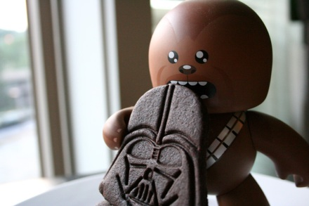 Take that Vader! NOM!