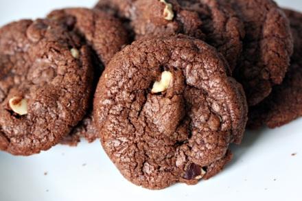 Chocolate Nutella Cookies | Amandeleine