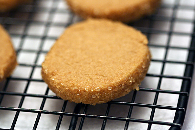 Brown Butter Brown Sugar Shorties | Amandeleine