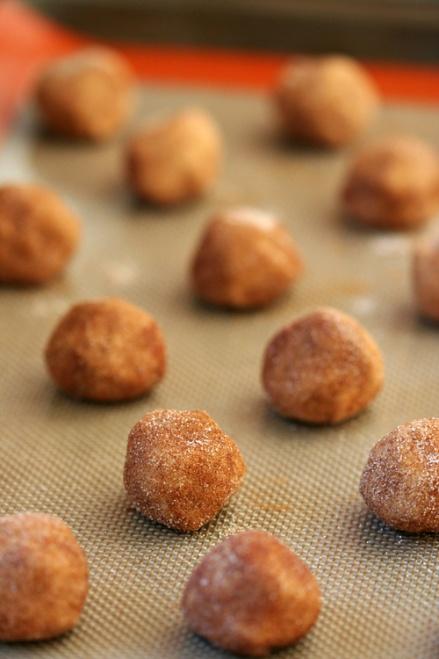 Unbaked snickerdoodles