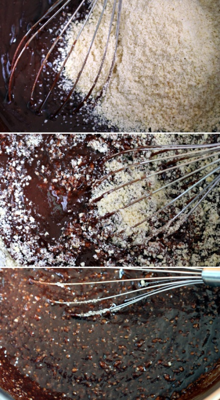 Flourless Brownie Batter
