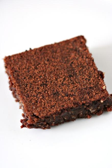 Flourless Peanut Butter Chocolate Brownie - Amandeleine