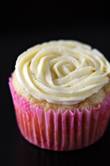 Gluten Free Lemon Salt  Cupcake - Amandeleine
