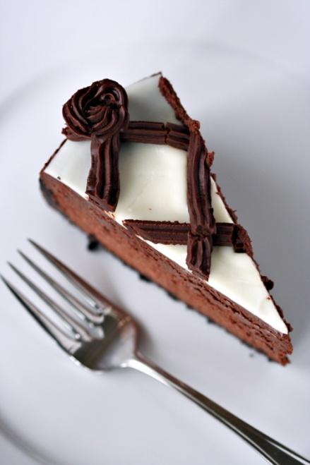 Dutch Chocolate-Mint Cheesecake  |  Amandeleine