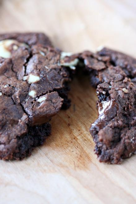 Malika Ameen's Chocolate Truffle Cookies  |  Amandeleine