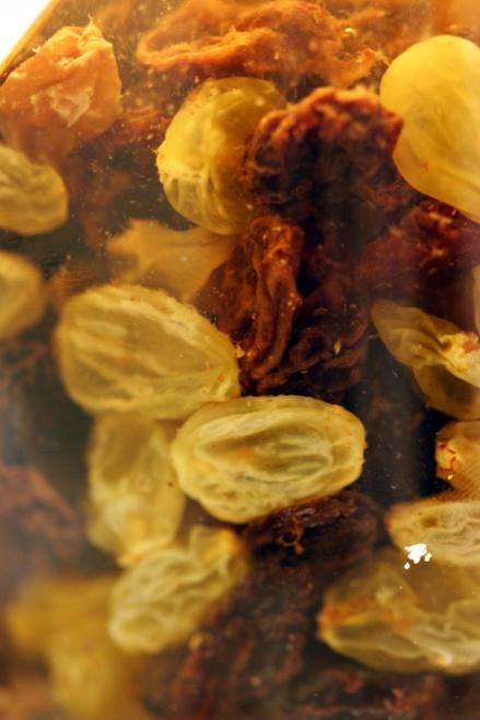 Soaked Raisins