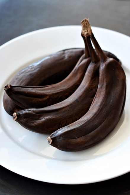 Defrosted Bananas
