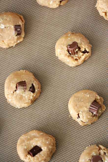 Reese's Peanut Butter Cookie Dough  |  Amandeleine