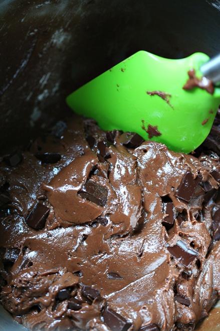 Nutella Peanut Butter Chocolate Chunk Cookies  |  Amandeleine