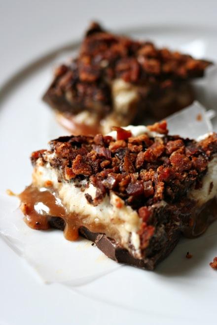 Whiskey Marshmallow, Caramel & Bacon Bark  |  Amandeleine
