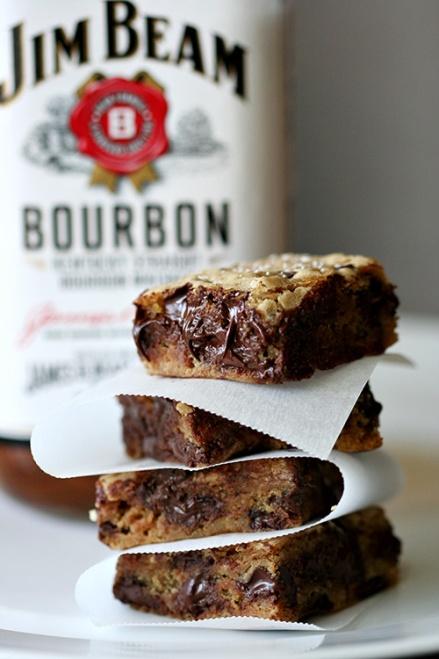 Salty Bourbon Squares  |  Amandeleine