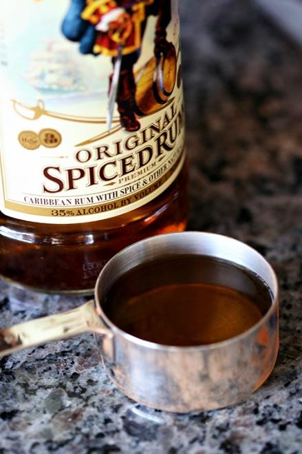 Spiced Rum  |  Amandeleine