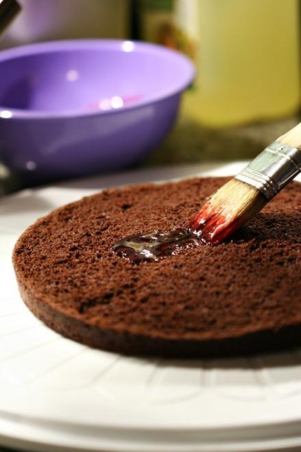 hitam Forest kue | Amandeleine